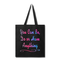 You Can Be - Tote - black