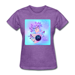 Taurus Lady on Blue - Women's - purple heather