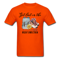 Get Lost in the Right Direction - Men's - orange