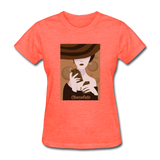 A Chocolate Eating Classy Lady - Women's - heather coral