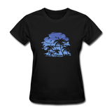 Palm Tees with Sky - Women's Tee - black