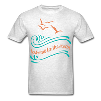 Take Me to the Ocean - Unisex - light heather grey