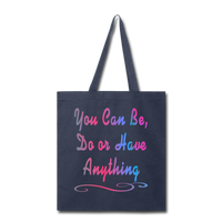 You Can Be - Tote - navy
