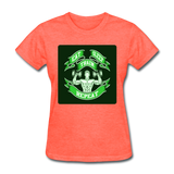 Eat Sleep Train Repeat 2 - Women's - heather coral