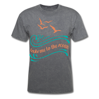 Take Me to the Ocean - Unisex - mineral charcoal gray