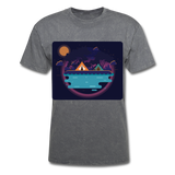 Camping on the Lake - Unisex - mineral charcoal gray