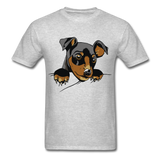 Dog in a Pocket - Men's - heather gray