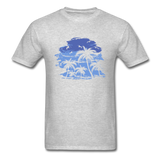 Palm Trees with Sky - Men's Tee - heather gray