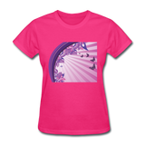 Sun Rays and Butterflies - Women's - fuchsia