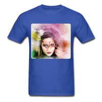 Beautiful Lady Butterfly - Unisex - royal blue
