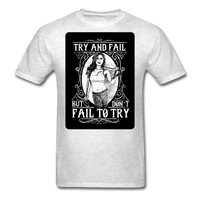 Try and Fail - Unisex - light heather grey