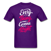 Every Little Thing is Gonna Be Alright - Men's - purple