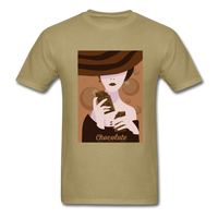 A Chocolate Eating Classy Lady - Men's - khaki
