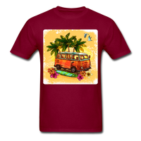 VW Bus Surfing - Unisex - burgundy