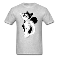 Black Tailed Cat - Unisex - heather gray