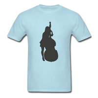 Lady with a Cello - Men's - powder blue