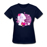 Beautiful Lady Poodle - Women's - navy