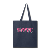Love Design - tote2 - navy