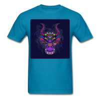 Colorful Dragon Face 2 - Unisex - turquoise