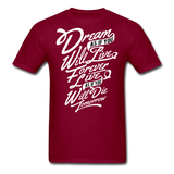 Dream As If - Men's - burgundy