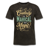 Creativity is Magical not Magic - Men's - mineral black