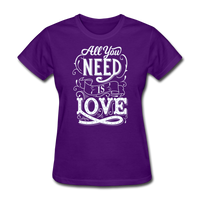 All You Need is Love - Women's - purple