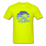 Palm Trees with Sky - Men's Tee - safety green