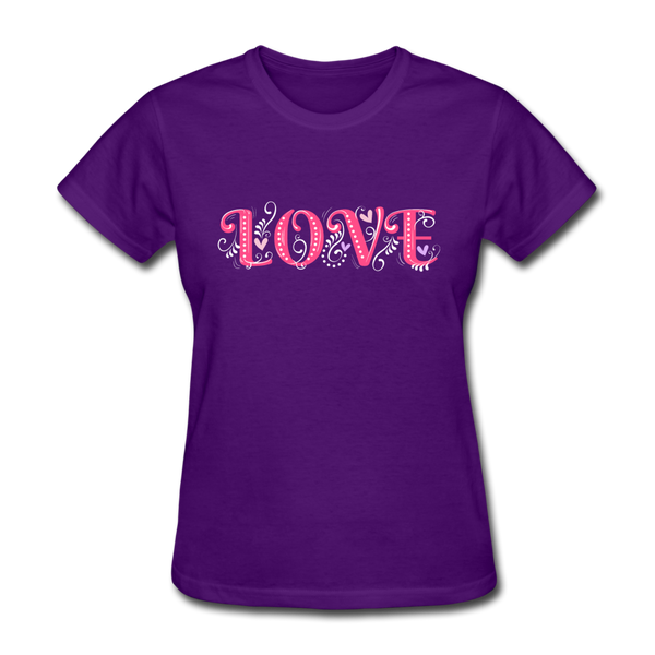 Love Design - Women's - purple