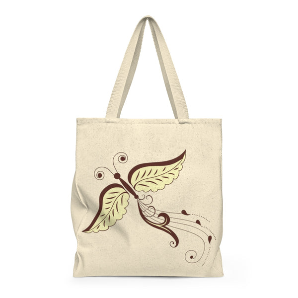 Butterfly Swirl Tail - Large Tote