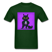Black Cat Thief - Men's - forest green
