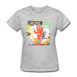 Chill Out Peace - Women's - heather gray