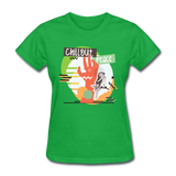 Chill Out Peace - Women's - bright green