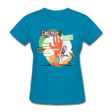 Chill Out Peace - Women's - turquoise