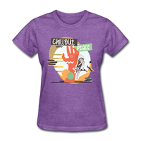 Chill Out Peace - Women's - purple heather