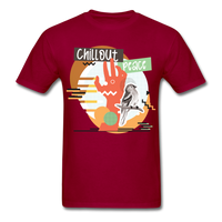 Chill Out Peace - Unisex - dark red