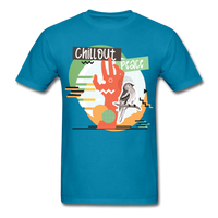 Chill Out Peace - Unisex - turquoise