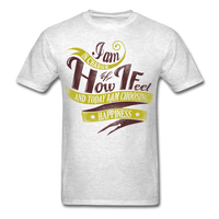 I am in Charge Choose - Unisex - light heather grey