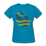 I am in Charge Choose - Women's - turquoise