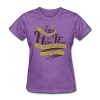 I am in Charge Choose - Women's - purple heather