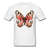 Rose Butterfly - Unisex - white