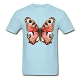 Rose Butterfly - Unisex - powder blue