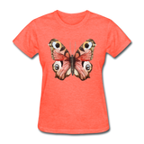 Rose Butterfly - Women's - heather coral