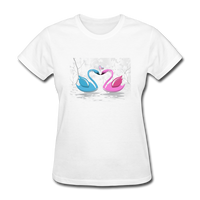 Swans in Love - Women's - white