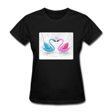 Swans in Love - Women's - black