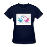 Swans in Love - Women's - navy