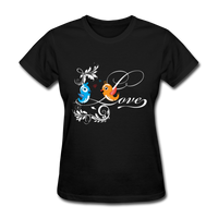 Birds in Love - Women's - black
