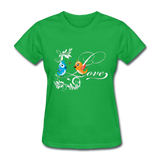 Birds in Love - Women's - bright green