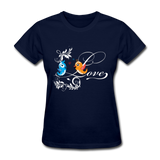 Birds in Love - Women's - navy