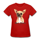 Most Wanted Chihuahua - Women's - red