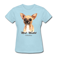 Most Wanted Chihuahua - Women's - powder blue